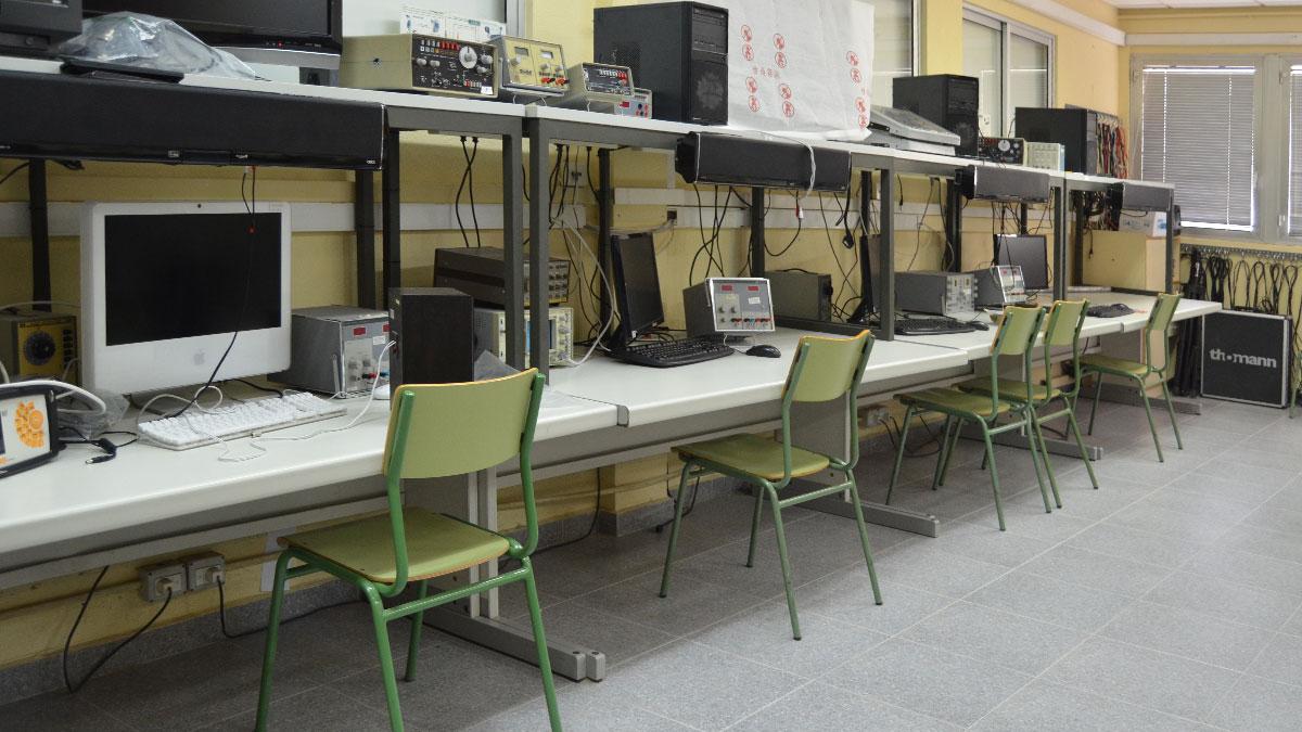 Aula de Electrónica